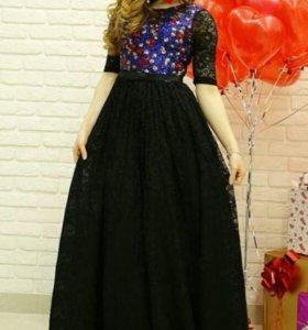Красивое вечернее платье 46 размер российский