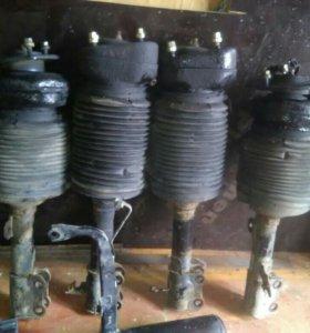 Пневмостойки, компрессор, рессивер