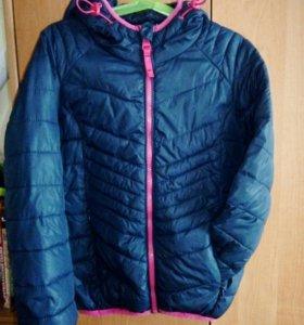 Куртка для девочки Sela осень-весна 6-7 лет
