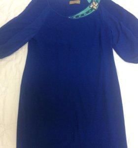 Синее платье на выход