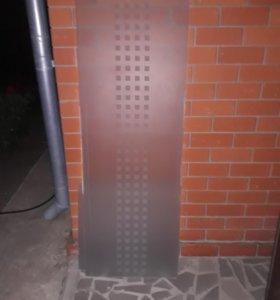 Стекло для двери. Размер 56.5×159.9см