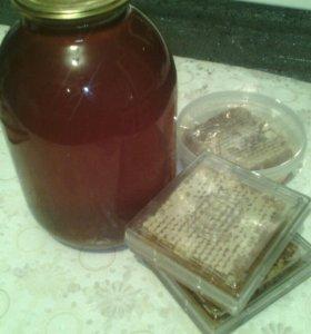 Продается свежий мёд разнотравье+подсолнечник
