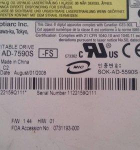 Sony NEC Optiarc AD-7590S Black slim