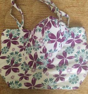 Пляжная сумка и кепка.Распродажа в профиле