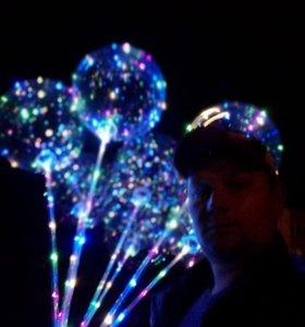 Светящиеся прозрачные шары Во-во ballons