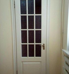 Двери деревянные новые без стекол