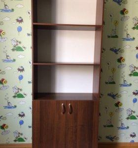 Стеллаж-шкаф для книг
