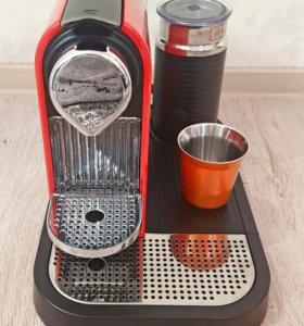 Кофемашина Nespresso Krups CitiZ&Milk