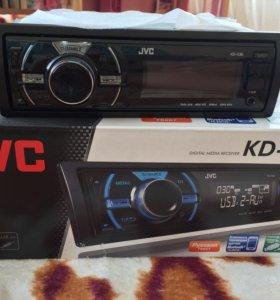 Магнитола JVC KD-X30