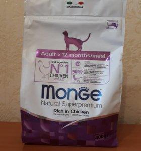 """Корм сухой Monge """"Cat Sterilized"""", 400г"""