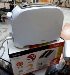 Тостер Dexp TS-2000 белый