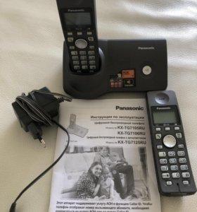 Радиотелефон Panasonic 2 трубки