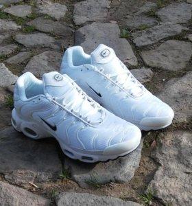 Nike Air Max Plus Tn кроссовки р1 белые