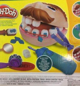 Игровой пластилин Play Doh мистер Зубастик