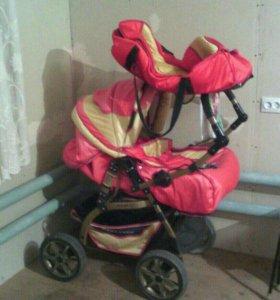Детская коляска зима- лето