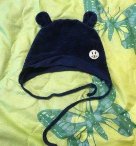 Детская шапка шапка для малышей ушки медведя