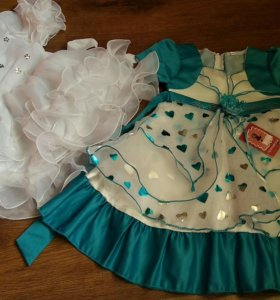 Новые нарядные платья р. 92