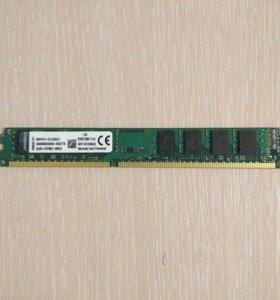 Оперативная память kingston ddr3 4гб 1600MHz