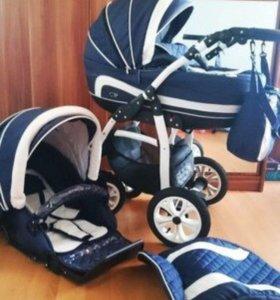 Детская коляска Gusio Carrera 2в1