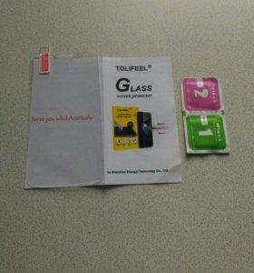 Стекло защитное на телефон LG K5