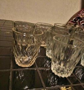 Стопки, стаканы, кружки
