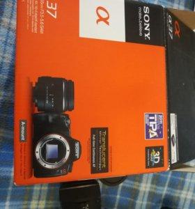 Фотоаппарат  Sony Alpha SLT-A37 Kit 18-5