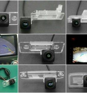 Штатная камера заднего вида 180 градусов