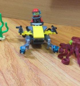 16. подводный мир lego sity