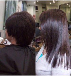 Наращивание +волосы
