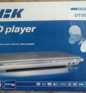 DVD плеер и микрофон BBK