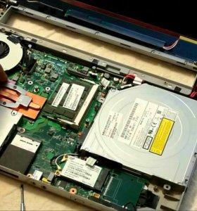 Настройка ремонт обслуживание компьютеров