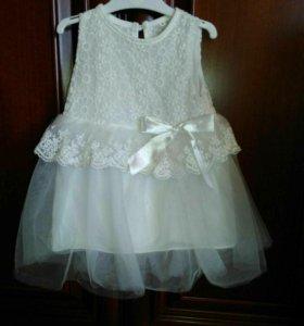 Праздничное платье 74 размер