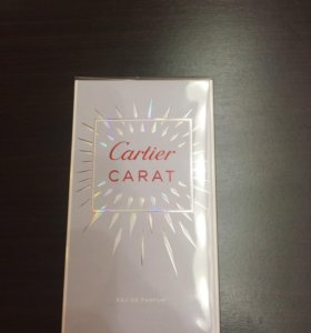 Новый аромат Cartier Karat Франция