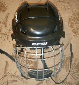 Шлем хоккейный новый р. 48-52