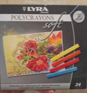 """Набор сухой пастели Lyra """"Polycrayons Soft"""""""