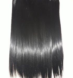 Искусственные волосы на заколках .