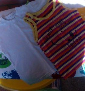 Майка и футболка для мальчика
