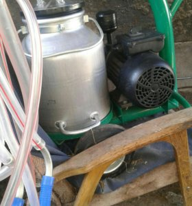 Доильный аппарат для коз.до 15коз за час