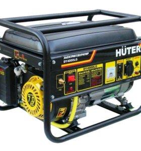 Газо-бензиновая электростанция HUTER DY4000LG