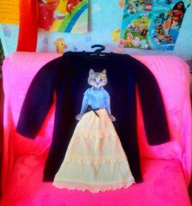 Новое красивое платье из Англии