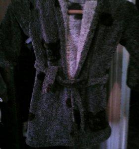 Махровый халат на мальчика.