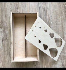 Футляр для бутылок Изделия из дерева