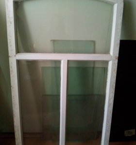 Оконные рамы со стеклом