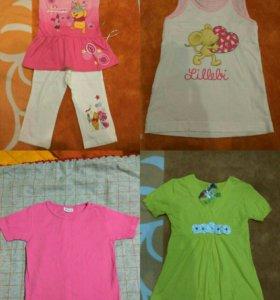 Одежда для девочки 116.