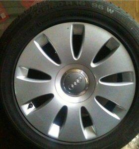 Оригинальные диски Audi R16