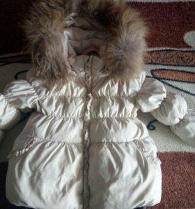 Комбинезон + куртка зима