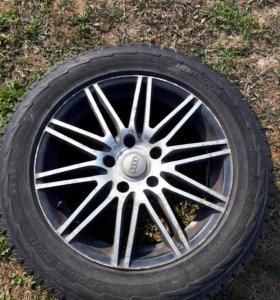 Колёса на дисках на Audi R 18