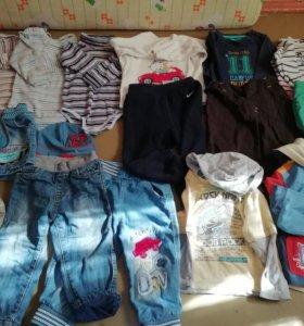 Пакет вещей на мальчика 86 92