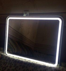 Классное зеркало с встроенной подсветкой