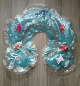 Детский круг на шею для купания новорожденных